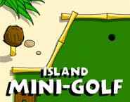 Mini golf na wyspie