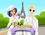 Księżniczka wybiera się na Diner En Blanc