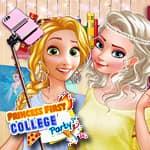 Pierwsze party w szkole księżniczki