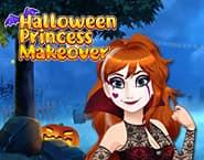Przemiana księżniczki na Halloween