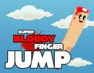 Super skoki zakrwawionego palca
