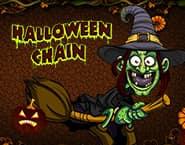 Halloweenowy łańcuch