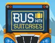 Autobus pełen walizek