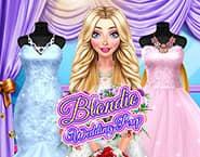 Przygotowania do ślubu Blondynki
