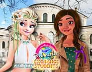 Elsa i Vaiana na wymianie studenckiej