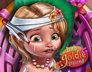 Mała Goldie jest ranna