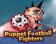Kukiełki walczących piłkarzy