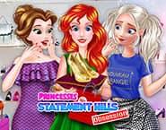 Księżniczki szaleją w Statement Hills