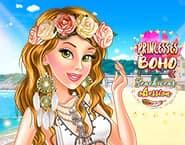Obsesja strojów plażowych Księżniczek Boho