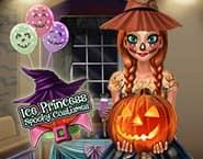 Kostiumy na Halloween ksi??niczki z Krainy Lodu