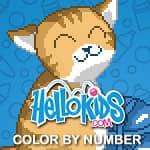 Hellokids - kolorowanka według numerów
