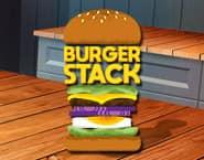 Stos burgerów