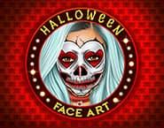 Sztuka makijażu modelek na Halloween