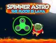 Spinner Astro: Podłoga to lawa