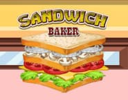 Piekarnia z sandwiczami