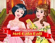 Księżniczka na balu Met Gala