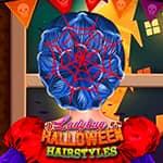 Fryzury Biedronki na Halloween