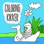 Kolorowanka Kikker