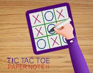 Tic Tac Toe Paper Note 2