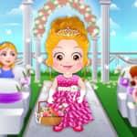 Baby Hazel: Flower Girl