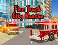 Fire Truck City Rescue