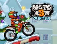 Moto X3M Zima